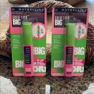 Maybelline Great Lash Big Mascara Bundle NWT